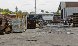 Lodi Fire Department investigating Tokay Recycling plant blaze