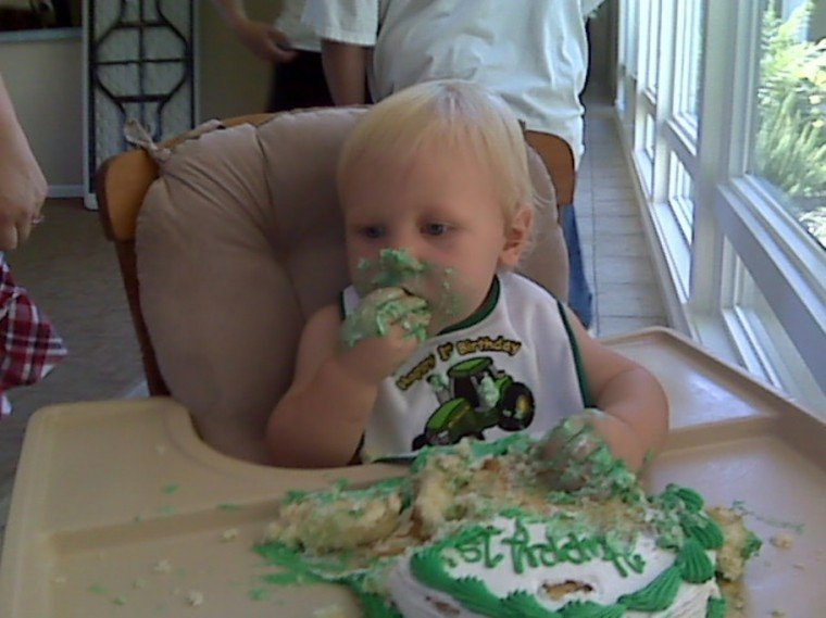 Levi's 1st Birthday