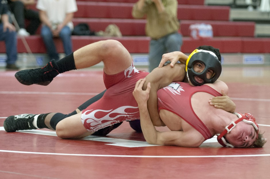 Tigers back on top, end two-year losing skid against Flames in wrestling