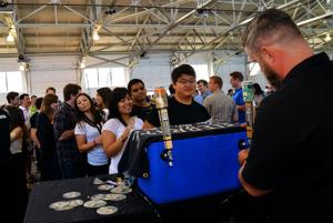 Awaken the senses with beer samples in the salty air at the Bay Area Brew Fest