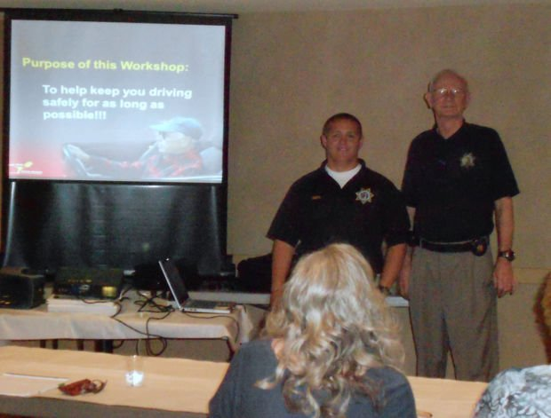 Lodi Elks and CHP hold mature drivers class