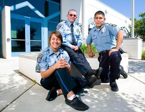 They aren't paid, but Galt cadets still like their jobs