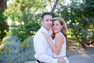 David Stockton and Janett Martinez were engaged in March in South Lake Tahoe