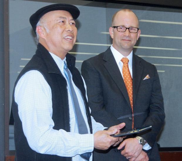 Tokay High School journalism teacher Roger Woo honored by state association