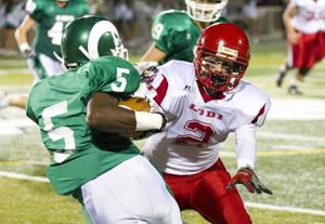 Lodi Flames hang for a half before St. Mary's Rams pull away