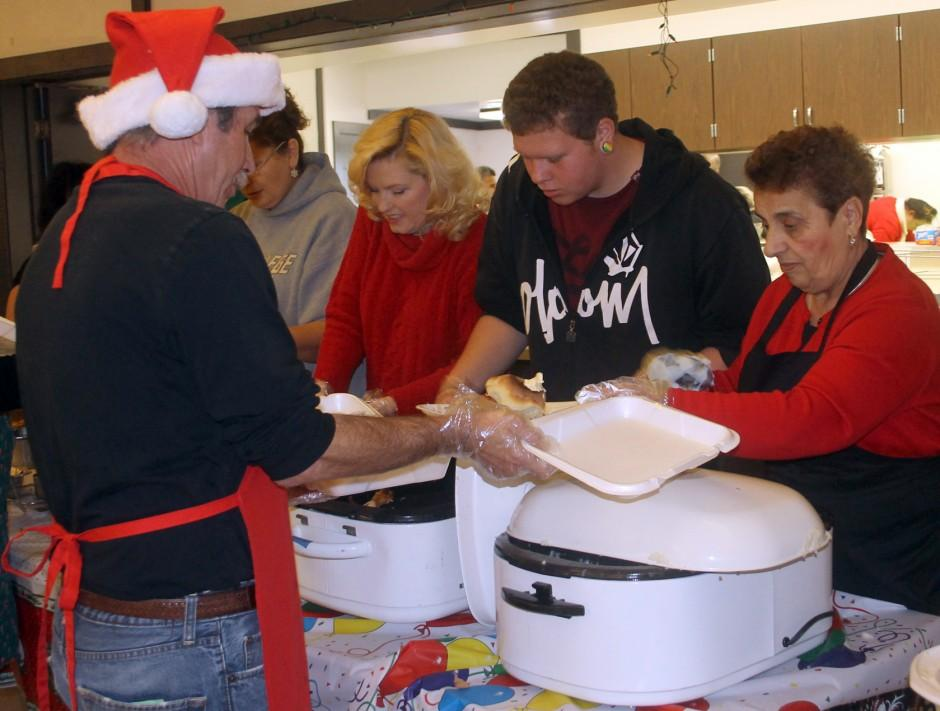 Galt organizations feed homeless, seniors