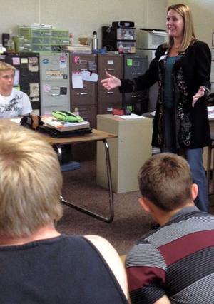 Assemblywoman Alyson Huber, aka 'The Encourager'