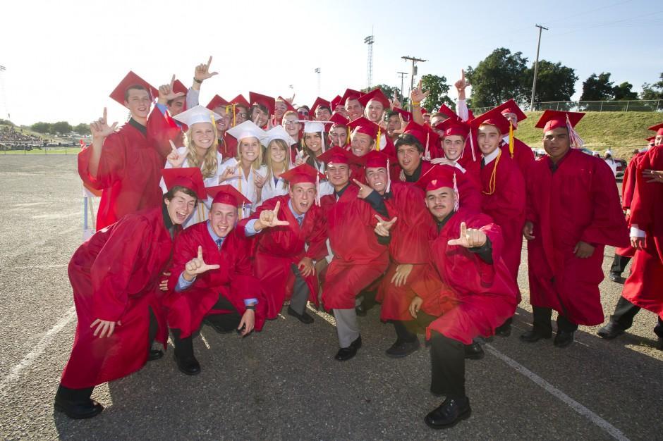 Lodi High School graduation