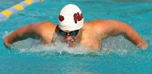 Flames sweep Tigers in swimming