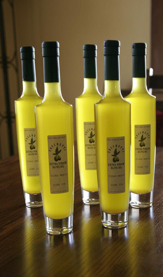 Olive oil flows in California Wine Country
