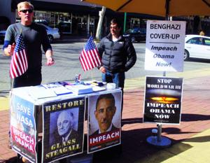 Activists protest at Lodi Post Office