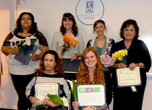 Soroptimists present awards honoring outstanding women and girls