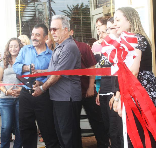 Ribbon-cutting at Brewster's restaurant in Galt