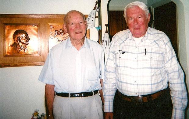 Woodbridge veteran Richard Best gets chance to visit survivor of famous World War II air raid