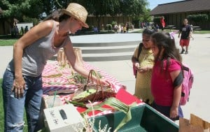 Vinewood Elementary School garden grows food, experiences