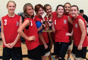 St. Peter Lutheran School volleyball teams bring trophies to Lodi
