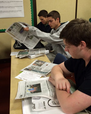 Impromptu practice with News-Sentinel