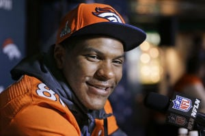 Julius Thomas didn't make his Super Bowl journey alone
