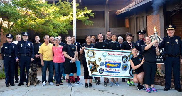 Special Olympics torch run starts in Galt