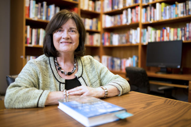 Book club leader Carol Henderson shares benefits of reading and sharing with others