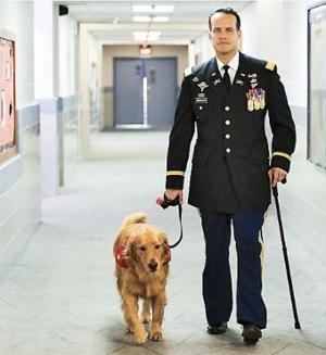 Iraq veteran will share how dog saved him