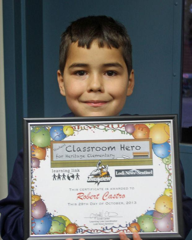 Heritage Elementary School Classroom Heroes