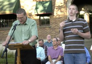Local religious, community leaders pray for troubled world
