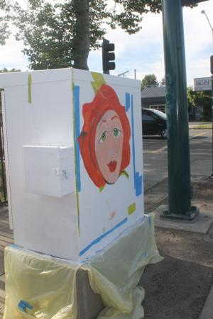Artists transform traffic boxes in Lodi