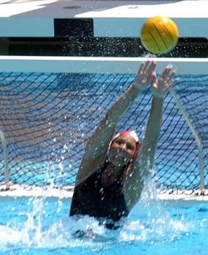 Danielle Sartori makes water polo splash abroad