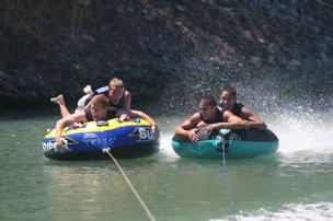 Tubing in the Delta