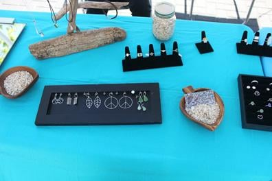 Find unique handcrafted jewelry at the Downtown Lodi Farmers Market