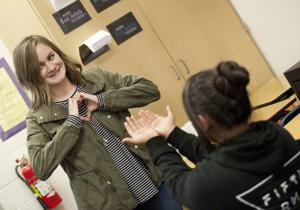 Tokay High students  connect with Shakespeare