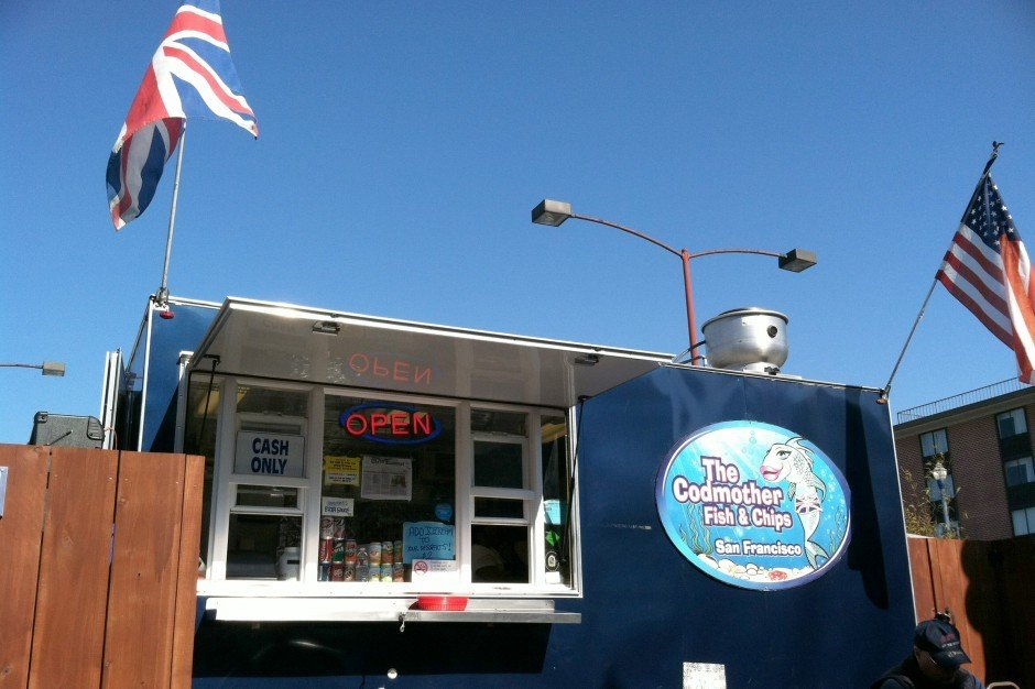 Enjoy fish and chips near Fisherman's Wharf