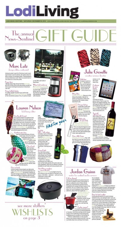 The annual News-Sentinel Gift Guide
