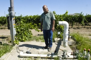 Recent ag theft leaves vineyard dry