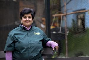 Micke Grove Zoo curator Avanti Mallapur explains zoo life