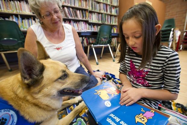 Children find an attentive audience at Lodi Library