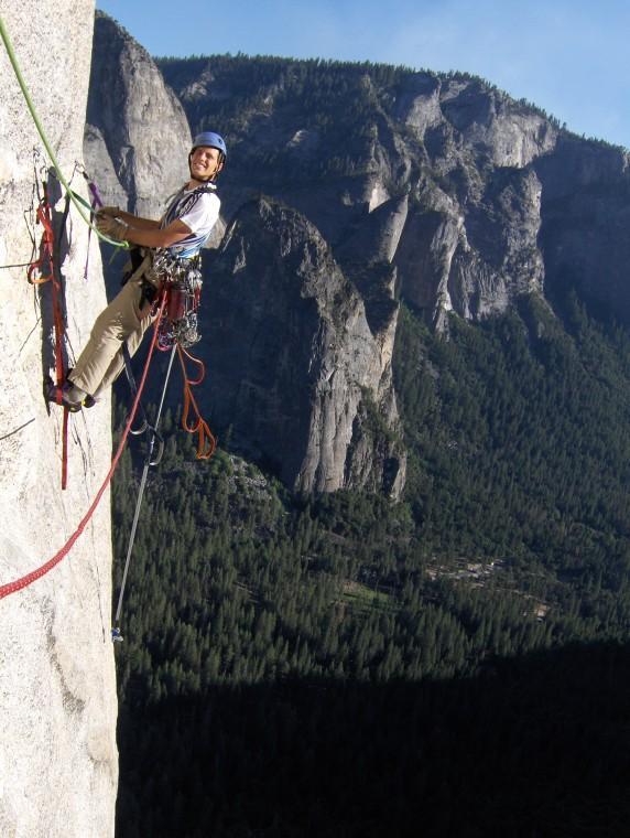 Climbing El Capitan, Yosemite