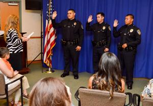 Lodi Police Department swears in new officers