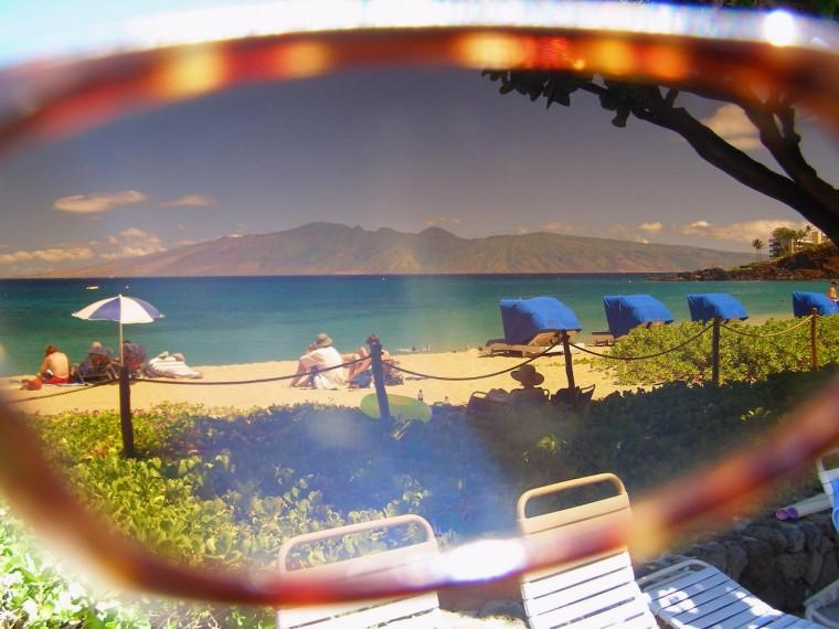 Maui Jim view of Molokai