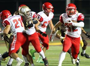 Football: Chance Trammell leads Flames past Delta Kings