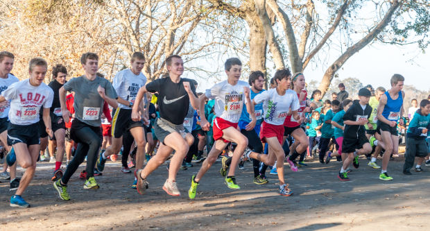 Womble Run at Lodi Lake