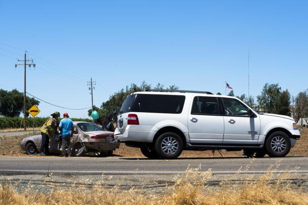 Paramedics respond to crash in Acampo