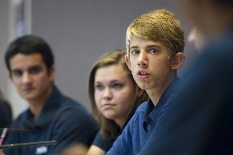 Local teens get a lesson in politics