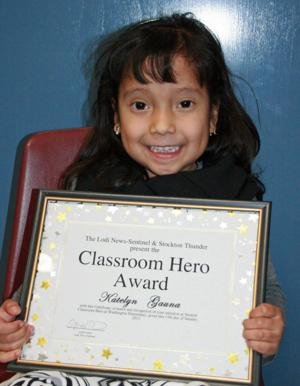 Washington Elementary School names Classroom Heroes