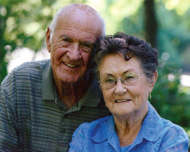 Doris and Lawrence Woznick celebrate 65 years of marriage