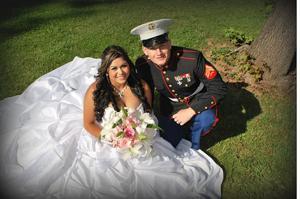 Brian Orozco, Anica Castellano wed