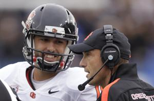 Sweet relief: Cody Vaz leads Oregon State past BYU in first career start