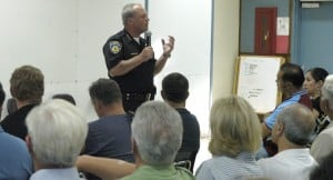 Forum at Heritage Elementary School discusses gangs