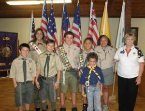 Lodi Elks holds Flag Day ceremony